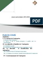 Cours Entrepreneuriat Pptx
