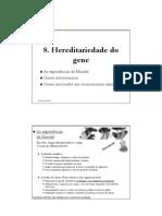 1 Hereditariedade do gene