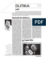 POLITIKA Edición n° 22