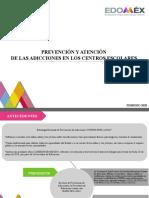TALLER DE PREVENCIÓN Y ATENCIÓN DE LAS ADICCIONES EN LOS CENTROS ESCOLARES. presentación foro