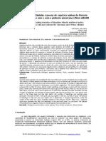 Efeito Pinus sobre especies nativas - Voltolini & Zanco 2010