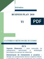 Business Plan 2010 Ti