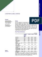 ICRA Credit rating rationale - Karuturi