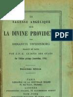 Em Swedenborg La Sagesse Angelique Sur La DIVINE PROVIDENCE LeBoysDesGuays 1897