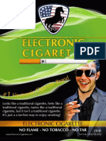 Electronic Cigarette Brochure