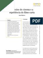 O Ensino de Cinema e a Experiencia Do Fi