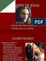 LA MUERTE DE JESUS