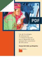 Medellín-Manual de apropiación comunitaria de telecentros. Taller participativo