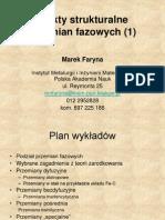Efekty strukturalne przemian fazowych-wykład-Marek Faryna