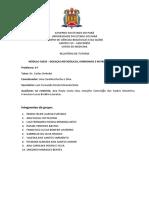 Relatório - ASE XX - P04 - Dr Sinimbú