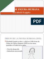 DIBUJO DE FIGURA HUMANA  Elizabeth Koppitz