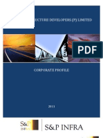CORPORATE PROFILE 2011 - S&P Infrastructure