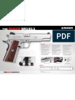 Ruger SR1911 Pistol Brochure