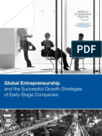 Global Entrepreneurship and the Successful Growth Strategies of Early-Stage Companies