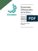 Ecuaciones Diferenciales en la física Metodos Matematicos Didier Alejandro