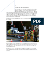 Caltrain Safety Issues--The April 15th (2011) Alma Street/Charleston Road Fatal Accident
