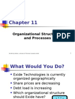 11-Organizational Structures and Processes