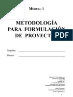 metodologia para la formulacion de proyectos