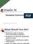 16 Managing Communication