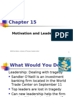 15- Motivation and Leadership