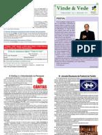 """Publicação """"Vinde e Vede"""" - N.º 2. 2011 - Abril de 2011"""