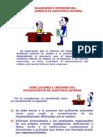 Capitulo III.- Conclusiones e Informes-25!08!20o9