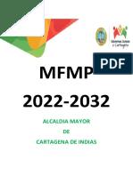 Proyecto de Acuerdo No. 098 - Presupuesto 2022
