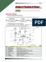 Chap3 Les ccircuits hydrauliques de transmission de puissance