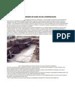 Influencia de las propiedades de suelo en las cimentaciones