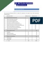 Evaluation Checklist - EcoMAS - Final