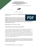 Fichamento_O Fato Social (Durkheim) VF