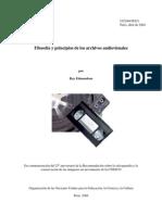 Filosofía y principios de los archivos audiovisuales