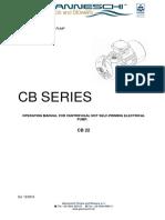 Manual for CB Series Pump