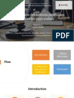 Présentation PowerPoint Soutenance Cyrine Alaya - Mastère en Traduction