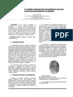 paper procedimientos evidencia