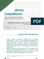 Observatorio Parlamentario - Marzo 2011 [Nación]