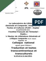 Affiche annonce et logos Col Traduc.doc[1]2003