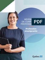 Referentiel Competences Professionnelles Profession Enseignante