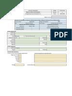Formulario de Registro Del Participante