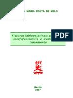 Livro - fissuras palatinas e abordagem morfofuncionais