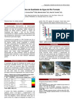 Acompanhamento do Índice de Qualidade da Água do Rio Formate