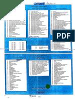 Tabela de Codigos S21