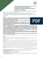 Comparação entre a Ventriculografia Radioisotópica