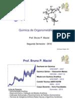 1 - Química de Organometálicos - Intro e Grupo Principal 1