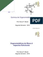 4 - Química de Organometálicos -Bloco d - Estrutura