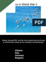 What Greeks Achieved in World War 2