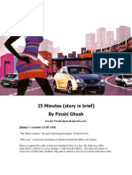 25 Minutes - A Short Mystery Thriller by Pinaki Ghosh