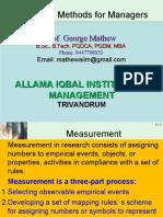 RMM Unit 3-1 Measurement