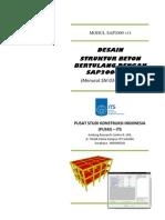 utf-8__DESAIN STRUKTUR BETON BERTULANG DENGAN SAP2000
