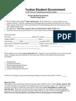 PSG Application - Executive Director